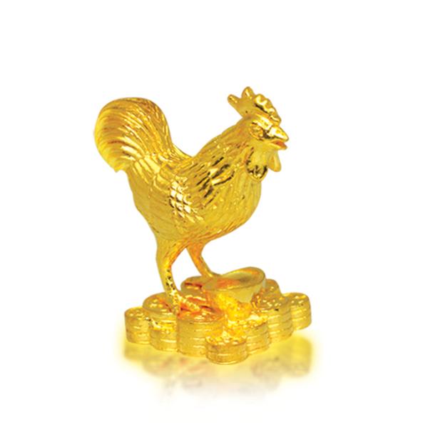 Tượng Gà Vàng